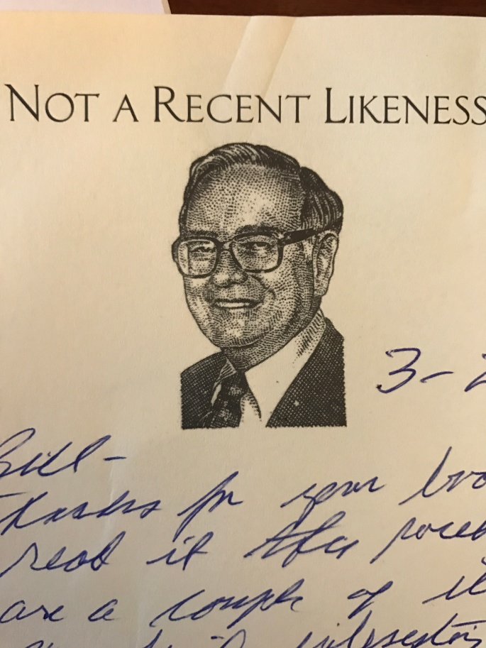 Warren Buffett Thank You Note
