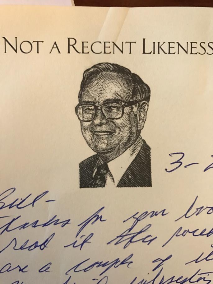 Warren Buffett Thank You Note